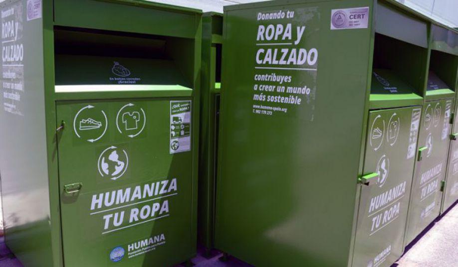 La Fundación Humana recupera mas de 27 Toneladas de textil en Llanes a lo largo de 2018