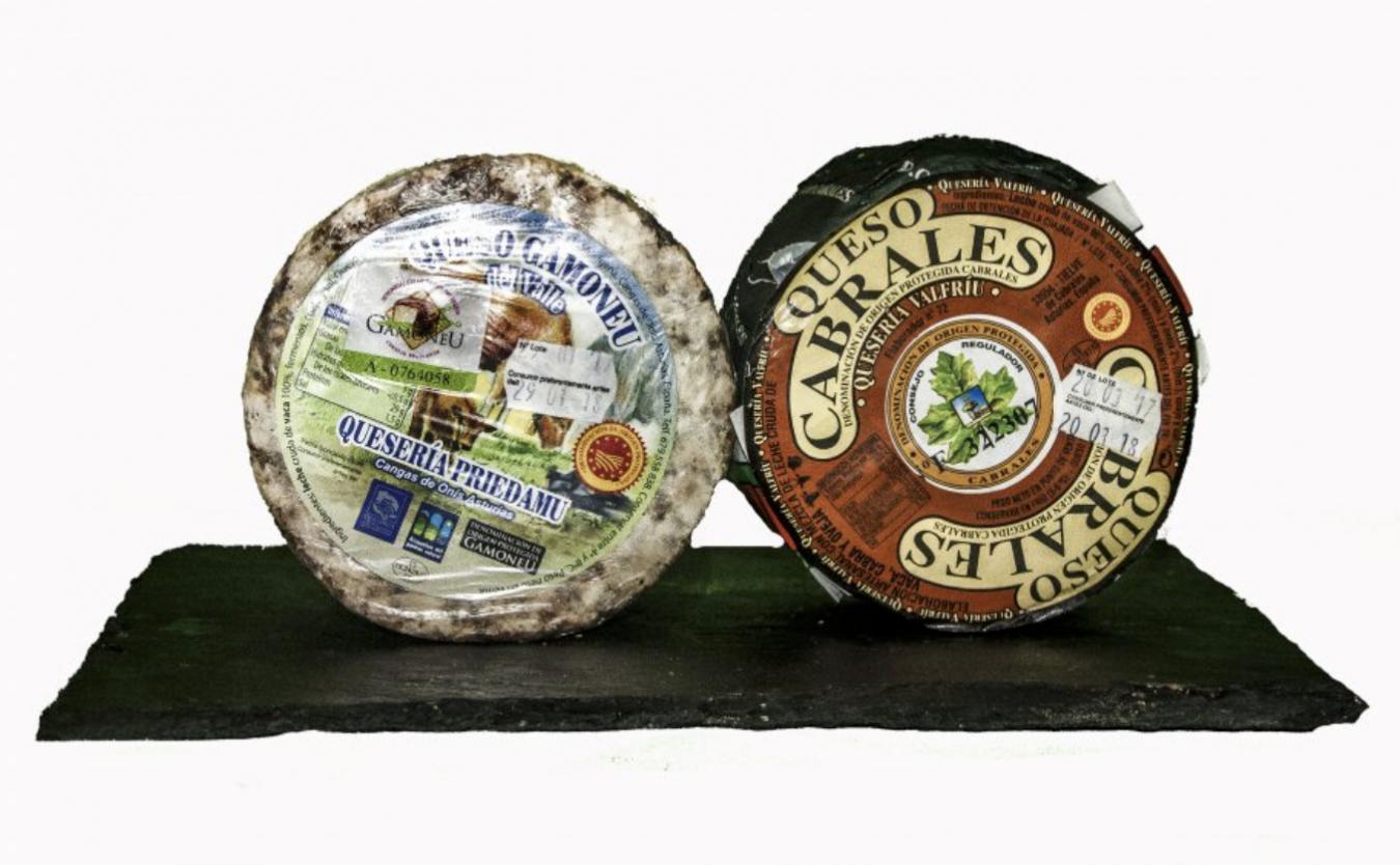 Los quesos de Cabrales, Gamoneu y Beyos estarán un año más en Madrid Fusión