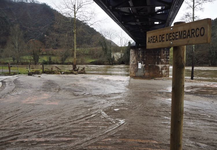 El PP lleva al Congreso una iniciativa para paliar los daños por el temporal en Asturias