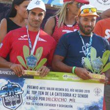 Alonso y Fiuza se quedan a un segundo del triunfo en el río Negro