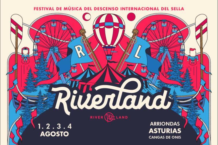 Te presentamos el cartel de la primera edición del Riverland