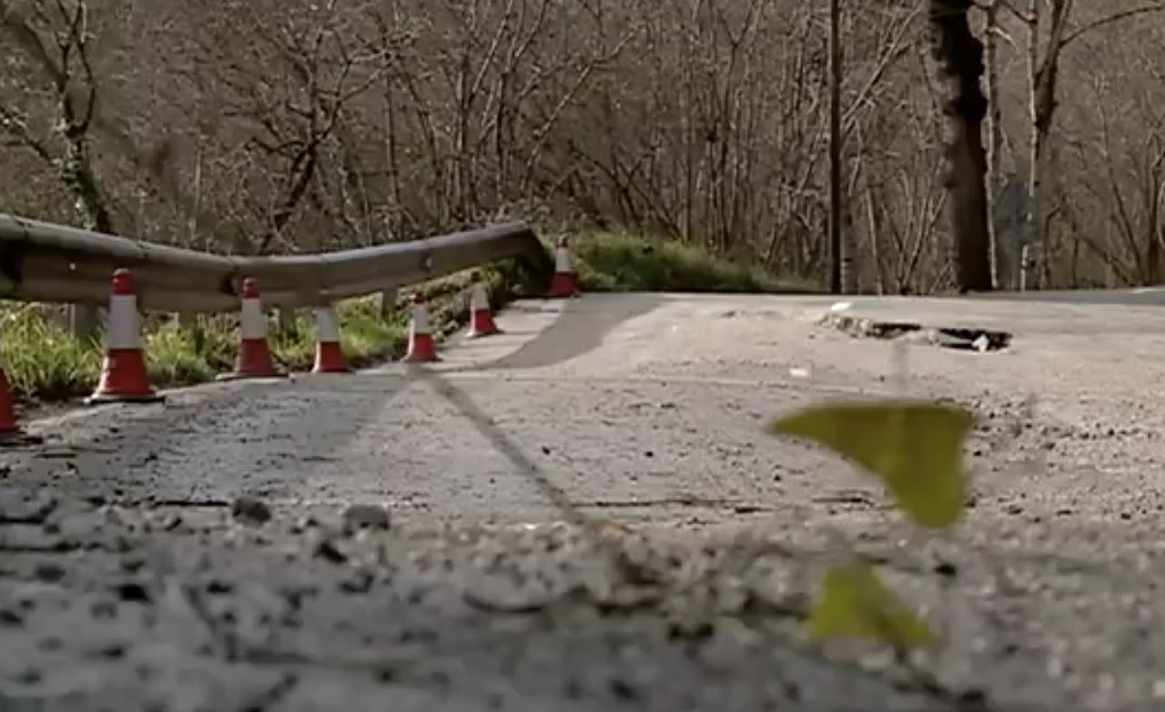 El Principado autoriza la reparación de seis carreteras del oriente afectadas por el temporal de enero