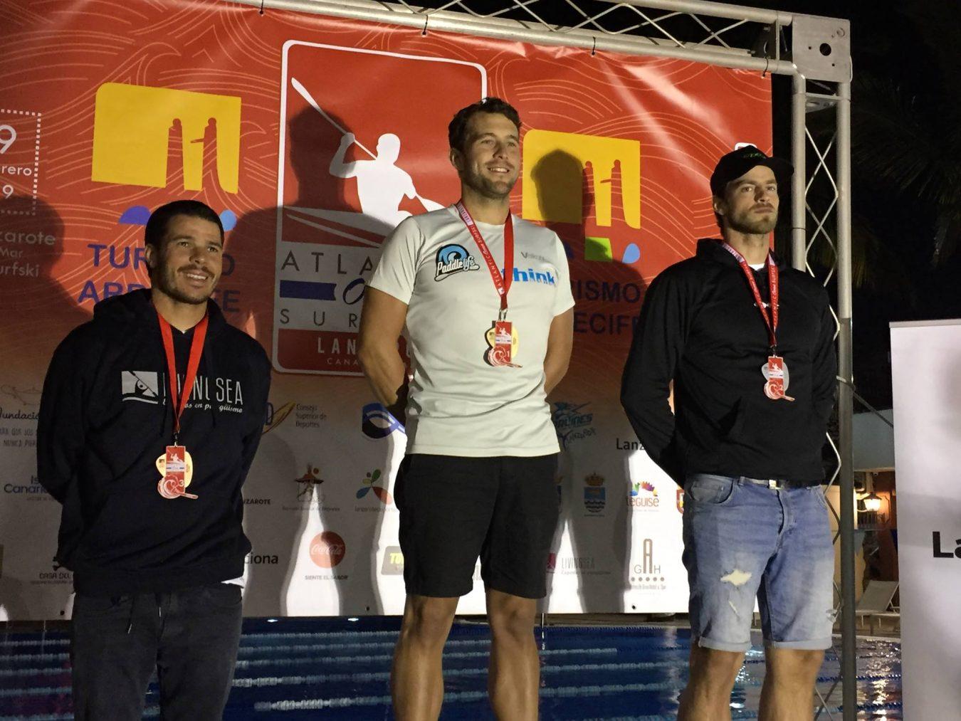 4º puesto para Bouzán en la Atlantic Ocean Race de Lanzarote. Kiko 9º y Luis Amado 10º