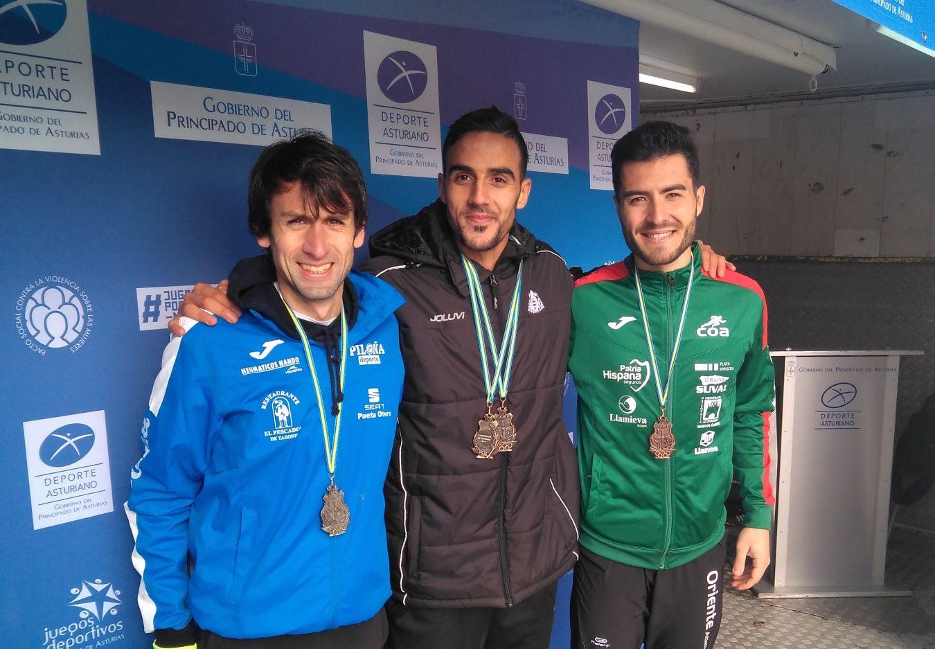 Plata y Bronce para el atletismo comarcal en el regional de Campo a Través