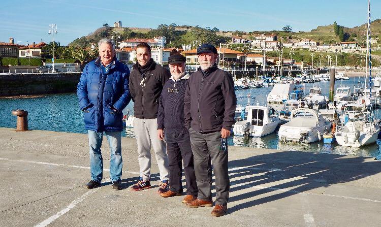 El nuevo presidente del Club Náutico Arra de Ribadesella nombra a su junta directiva