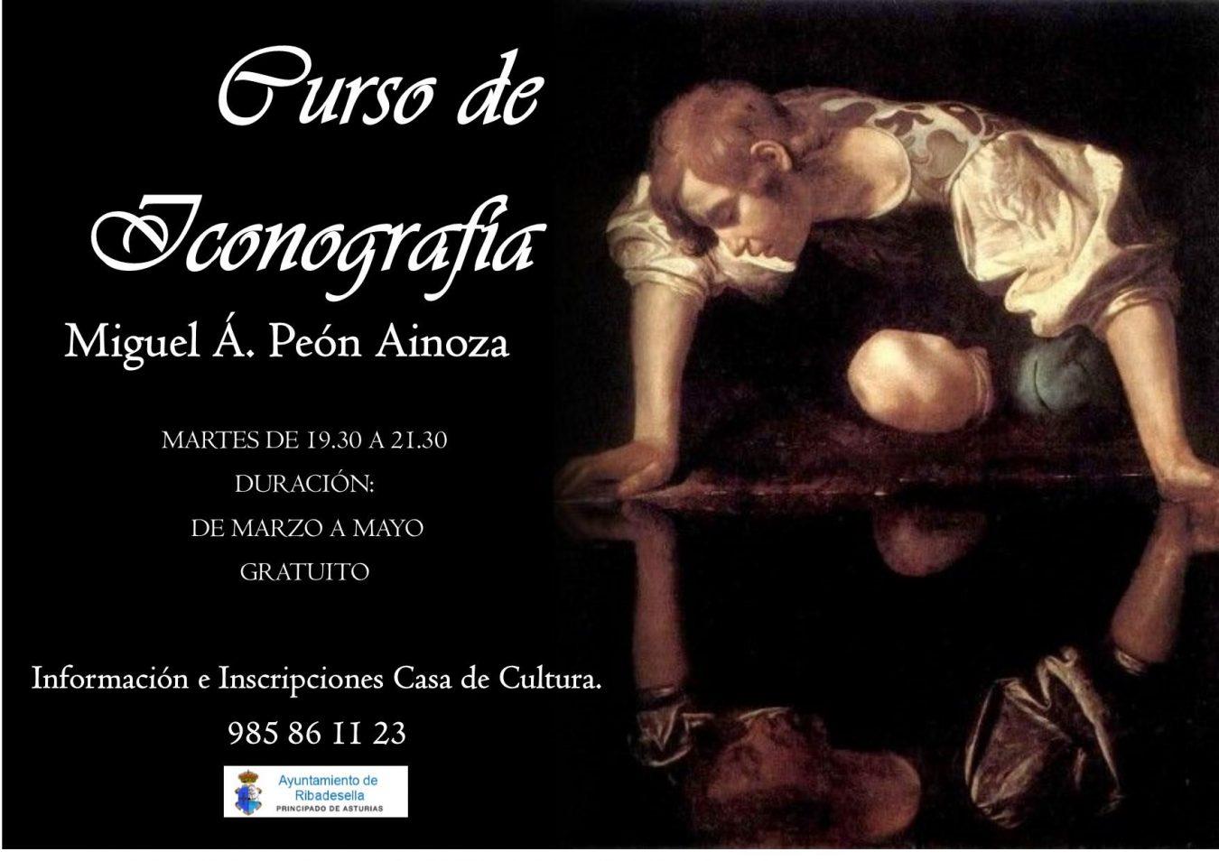 Curso gratuito en Ribadesella sobre iconografía a cargo de Miguel Angel Peón