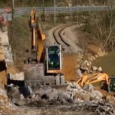 ADIF inicia los trabajos en Parres para recuperar el tráfico ferroviario