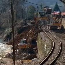 Este viernes 29 de marzo se restablecerá el tráfico ferroviario entre Arriondas e Infiesto