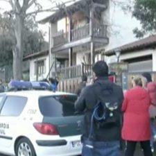 El autor intelectual del crimen de Ardines participa en el registro que la Guardia Civil realiza en su vivienda de Belmonte de Pría