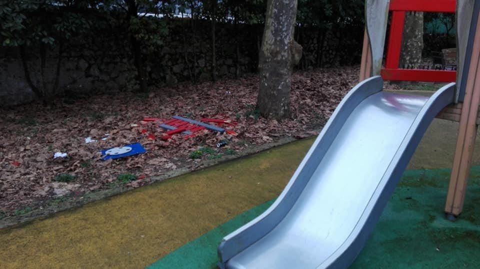 Posada de Llanes clama por la mejora de su Parque Infantil