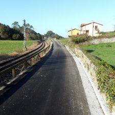 Concluyen las obras de mejora de caminos en Pendueles, Vidiago y Puertas de Vidiago