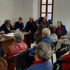 Asamblea de la Asociación de Jubilados y Pensionistas de Cabrales en Carreña