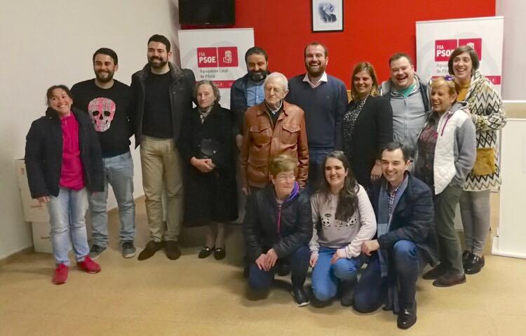 Iván Allende repetirá como candidato socialista en Piloña con el apoyo unánime de sus compañeros