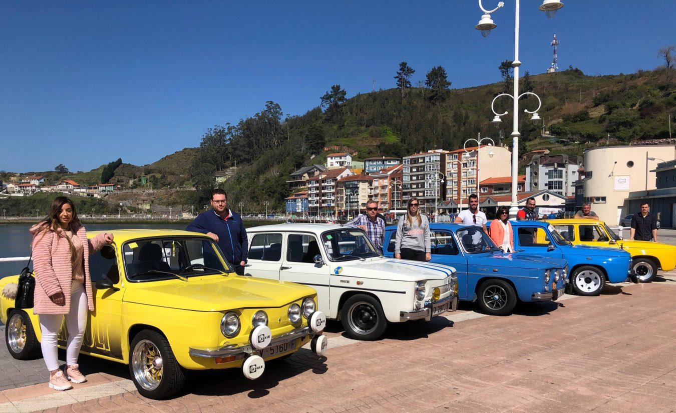 Los Amigos del R8 de Asturias se reúnen en Ribadesella