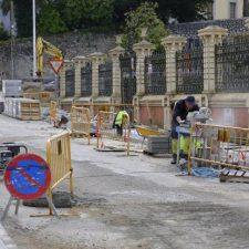 Esta semana concluyen las obras de adecuación de la calle Pidal de Llanes