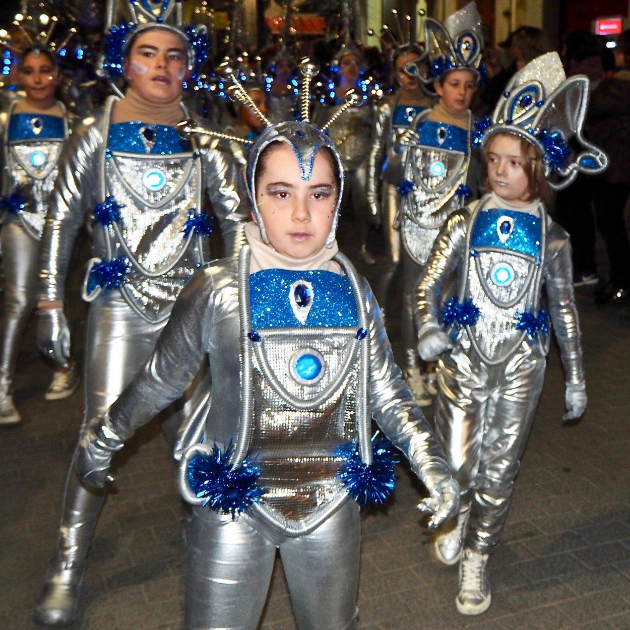 Los Galácticos de Posada la Vieja ganan en el Carnaval de Nueva