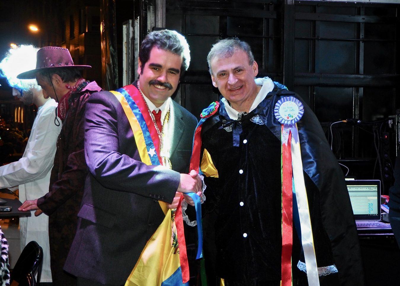 Nicolás Maduro se olvida del apagón de Caracas en el Carnaval de Arriondas