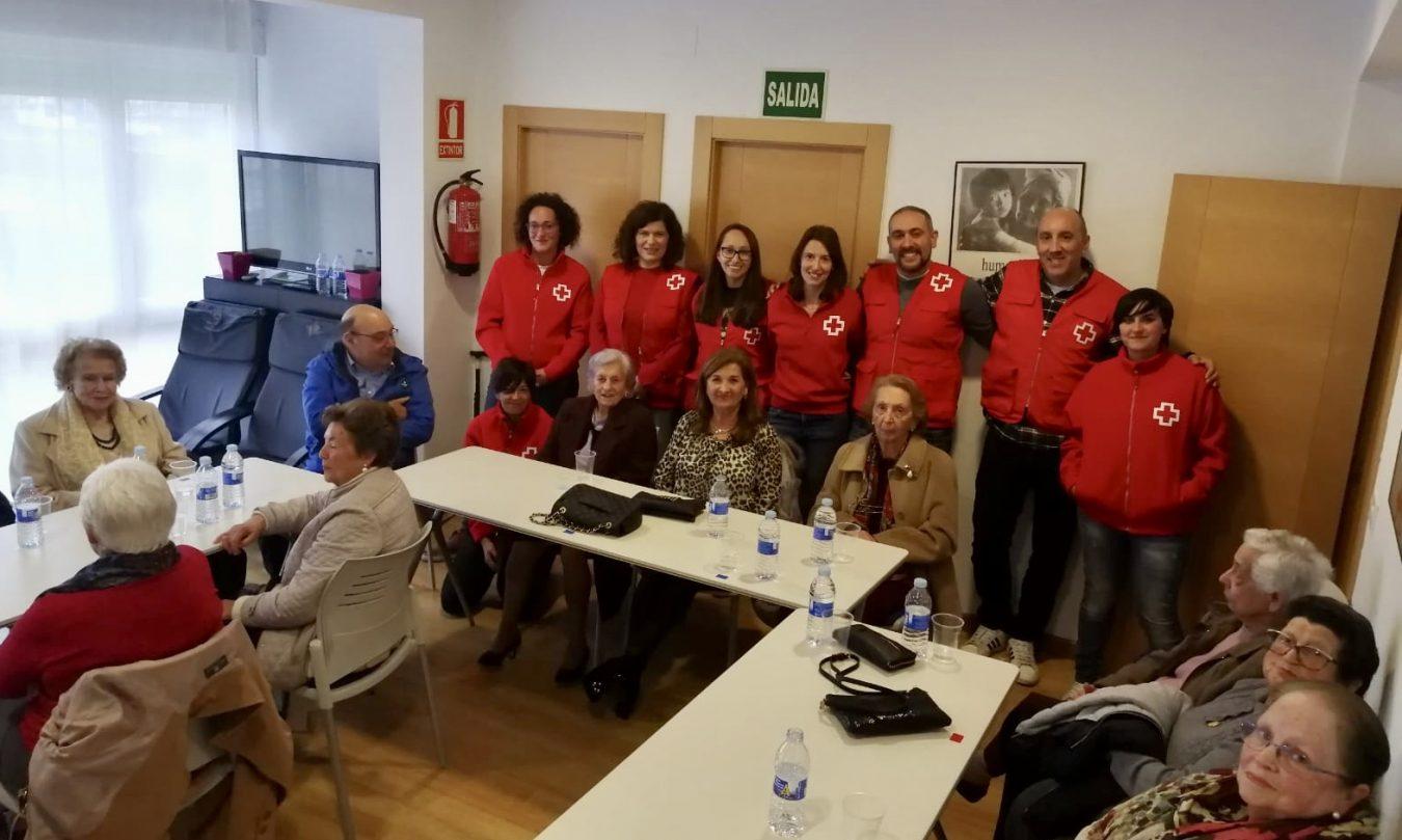 Curso de seguridad vial de Cruz Roja para los mayores de Ribadesella