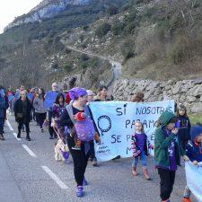 El oriente de Asturias también se moviliza por la igualdad en el Día Internacional de la Mujer