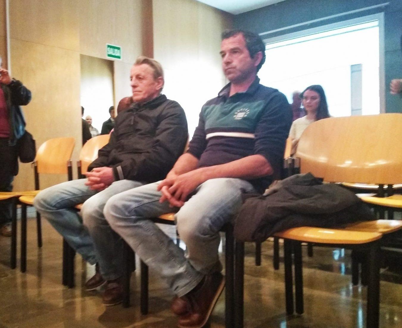 Los acusados del incendio de Parres se declaran inocentes y perjudicados