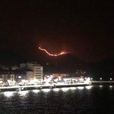 El número de incendios en Asturias se acerca al centenar, destacando los de Cabrales, Cangas, Llanes y Ribadesella