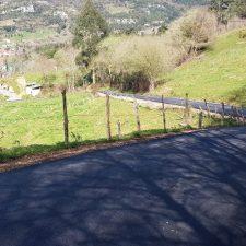 Peñamellera Baja concluye la reparación del vial que une Panes y Cimiano