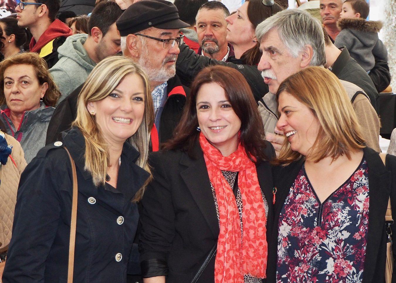 Adriana Lastra pasa la jornada de reflexión en su villa natal, en Ribadesella