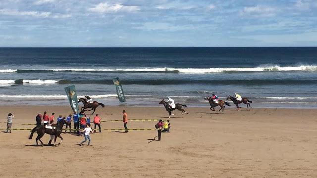 Treinta monturas, ninguna local, competirán en las Carreras de Caballos Playa de Ribadesella