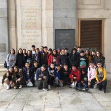 Viaje Cultural a Madrid de 31 alumnos de secundaria del Colegio Ntra Sra del Rosario de Ribadesella