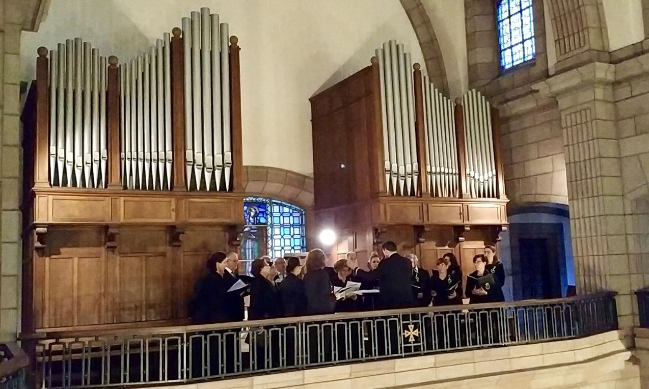 Concierto de música sacra a cargo del Coro Peñasanta-Ramón Prada de Cangas de Onís