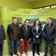 La Delegada del Gobierno en Asturias visita Cabrales y Onís