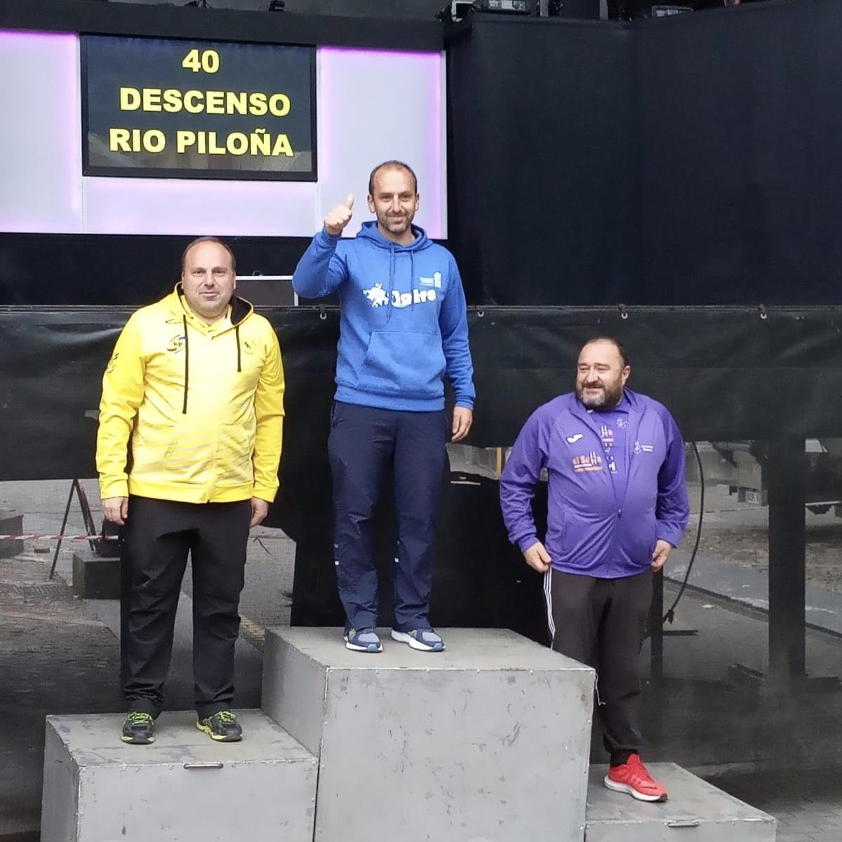 La K2 de Walter-Fiuza y el equipo de Los Rápidos ganan en el Descenso del Piloña