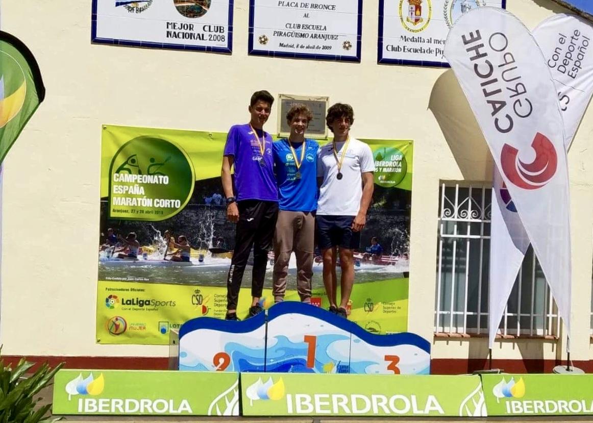 Medalla de plata Ramón Suárez del Cueto en el Campeonato de España de Maratón Corto