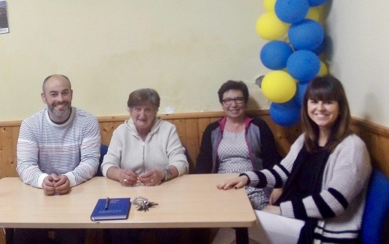 El candidato del PP a la alcaldía de Ribadesella se entrevista con la junta directiva del Cobayu