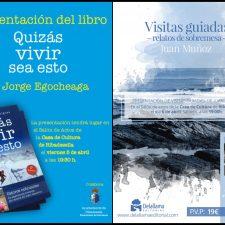 Doble presentación literaria en la Casa de Cultura de Ribadesella