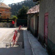 Recta final para la ampliación de la red de saneamiento en la localidad llanisca de Villahormes