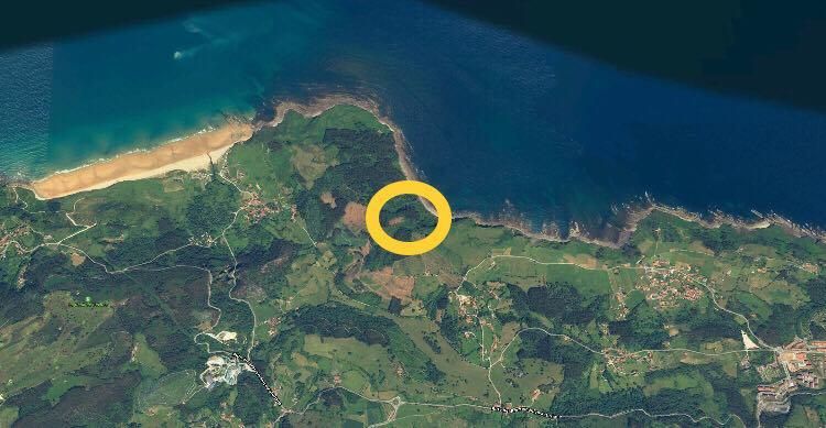 Abéu quiere contar con el área recreativa con mejores vistas de Ribadesella