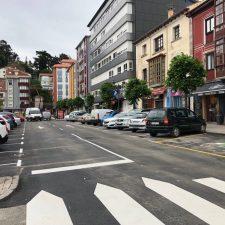 Los hosteleros de Ribadesella ven complicada la peatonalización propuesta por el PP para salvar las terrazas