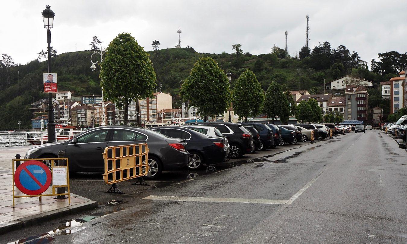 El lunes comienza el asfaltado de la principal calle del puerto de Ribadesella