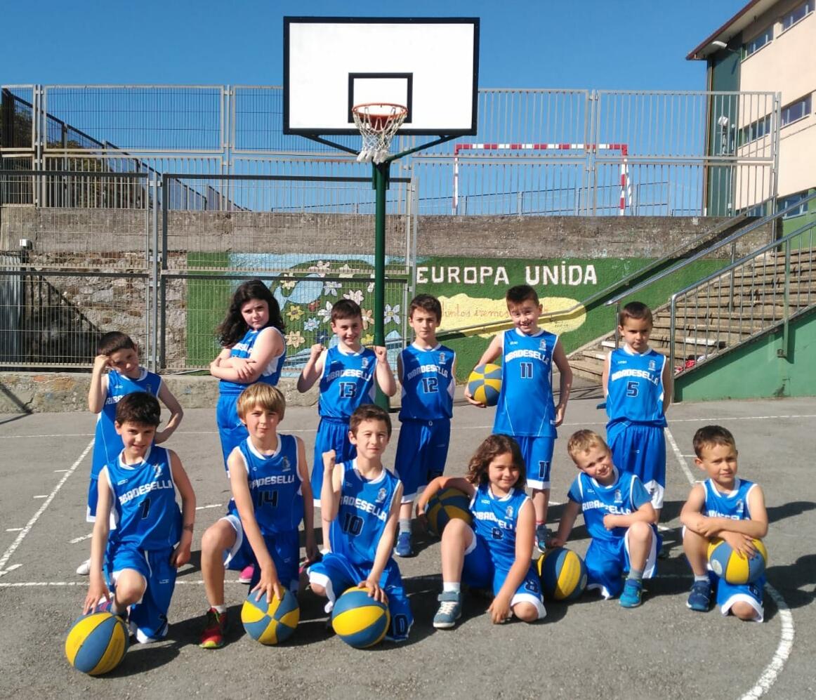 El deporte del baloncesto vuelve a Ribadesella con un equipo benjamín que debutará el 26 de mayo