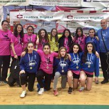 Cuatro jugadoras del Balonmano Ribadesella a la Selección Asturiana Infantil Femenina