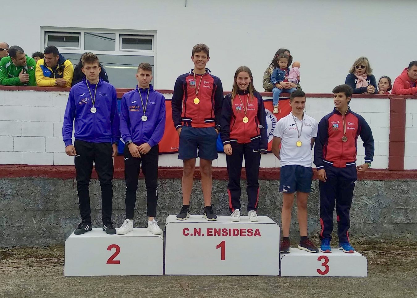 Busto-Geringer (El Sella) Campeones de Asturias K2
