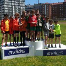 El equipo masculino Sub10 del Club Oriente Atletismo se proclama Campeón de Asturias