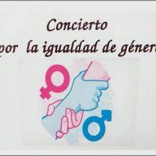 Concierto por la igualdad de género este sábado en la localidad de Nueva