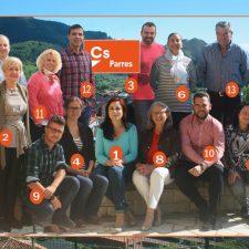 Mili de la Maza desvela los nombres de la candidatura de Cs al Ayuntamiento de Parres