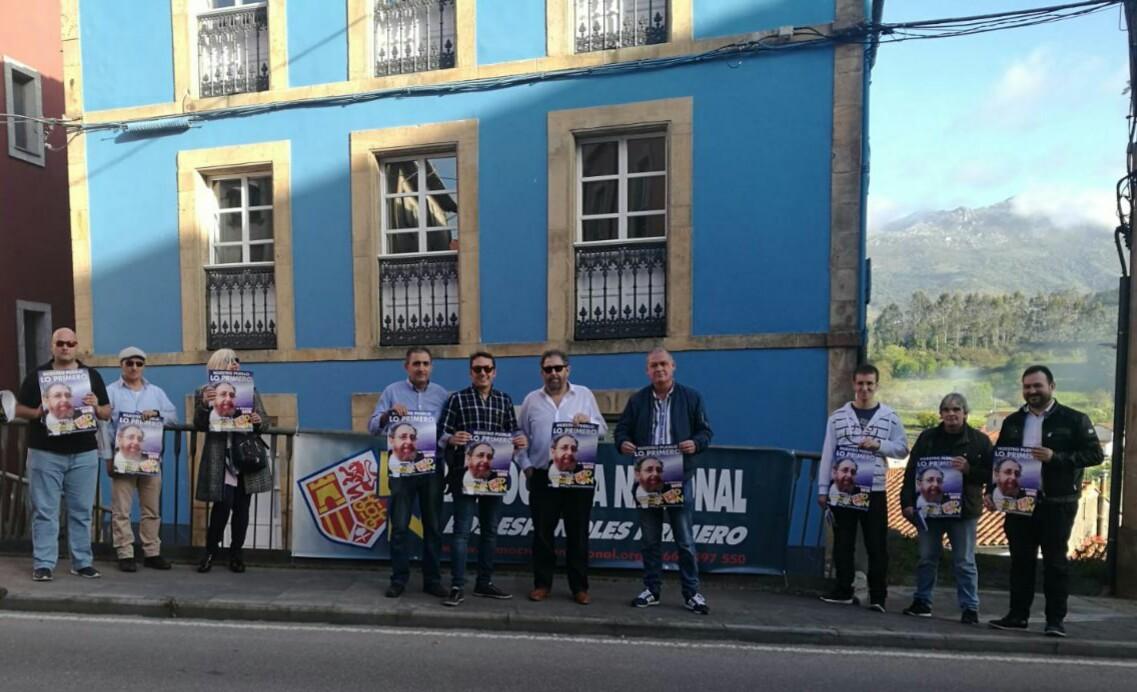 Colunga, el único municipio de la comarca donde se presenta Democracia Nacional