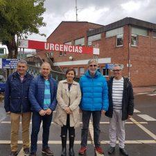Carmen Moriyón dice en Arriondas que con Foro en el Gobierno no habrá hospitales de segunda