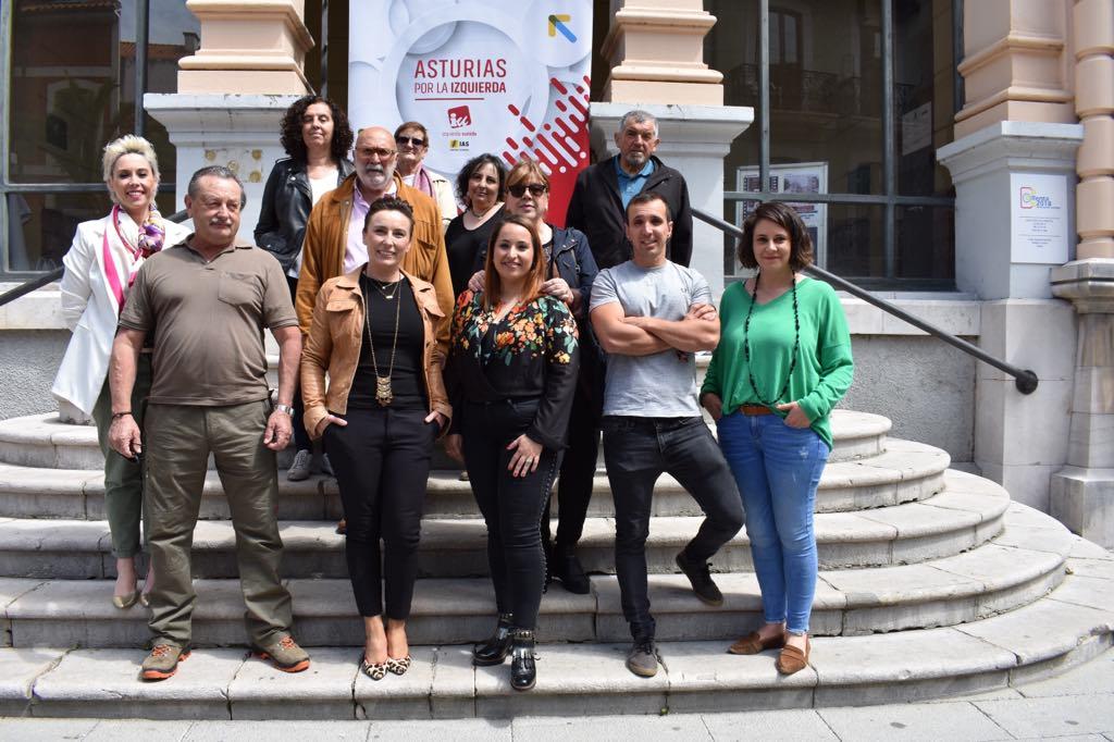 Presentada la candidatura de IU al Ayuntamiento de Llanes con Priscila Alonso como candidata