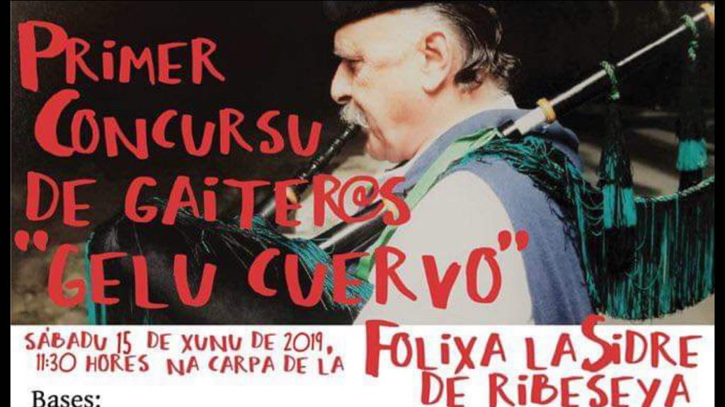 La Folixa de Ribadesella incluirá un concurso de gaiteros dedicado a Gelu Cuervo
