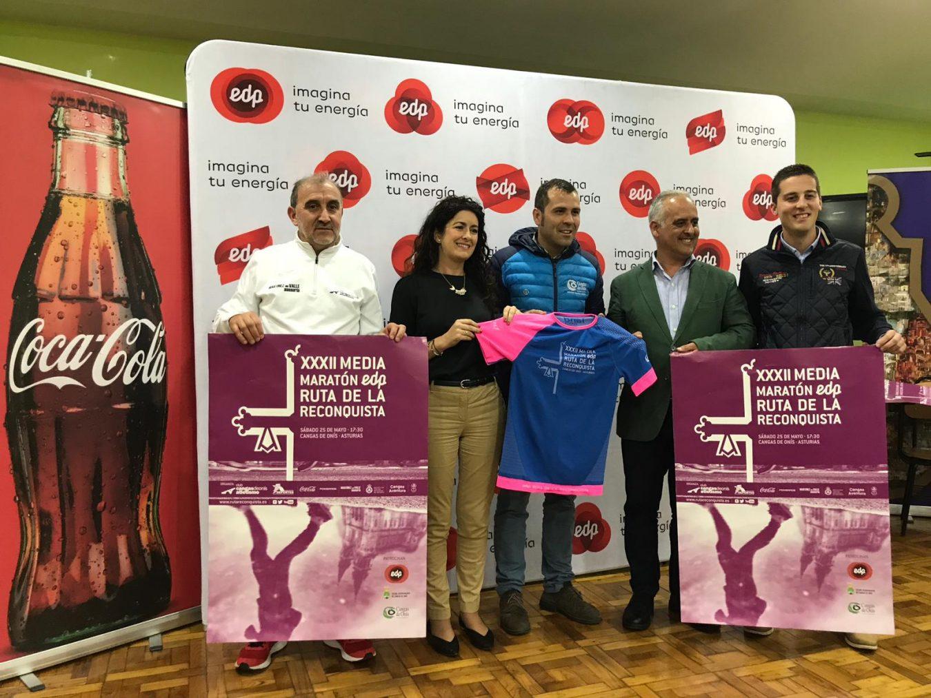Presentada en Covadonga la 32º Media Maratón Ruta de la Reconquista